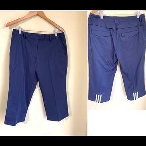 Women's adidas Capri Golf pants size 8